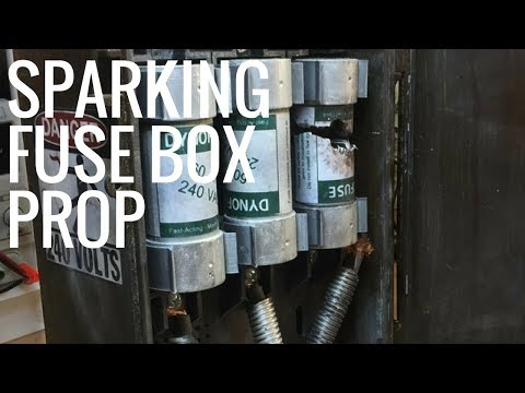 sparking fuse box halloween prop by nicholaskoza - thingiverse  thingiverse