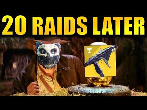 Destiny 2: I Did 20 Raids to get this Gun...