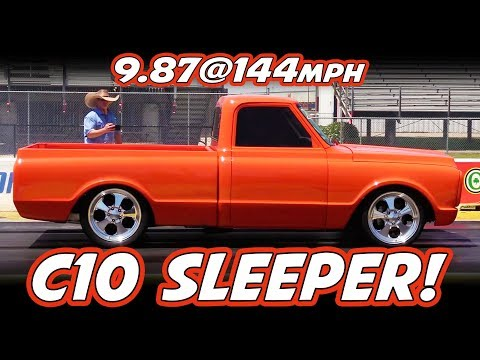 Sleeper C10 Chevy Truck - Twin Turbo - Runs 9's
