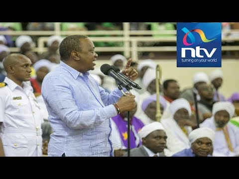 President Kenyatta slams 'tangatanga' for neglecting duty