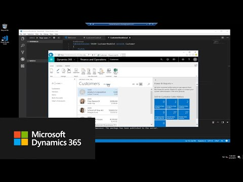 Download How do I add AL code to an extension? | Dynamics 365 Business Central Apps Mp4 HD Video and MP3