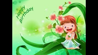 Lovely Birthday Wishes For Baby Girl - Birthday Quotes, Messages, SMS, Greeting And Saying