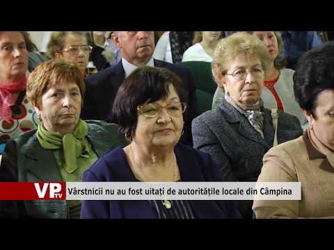 Vârstnicii nu au fost uitați de autoritățile locale din Câmpina