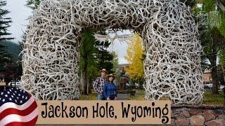 Jackson Hole, auténtico pueblo de cowboys. Wyoming