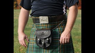When is it proper to wear a kilt belt?