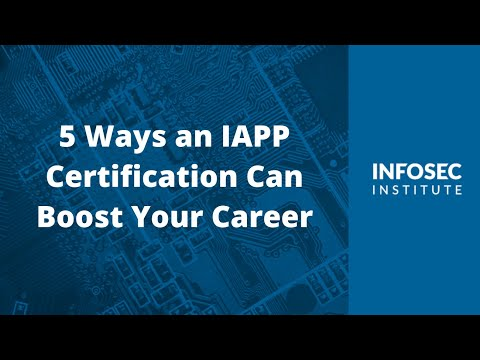 5 Ways an IAPP Certification Can Boost Your Career - YouTube