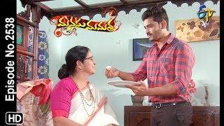 Manasu Mamata | 9th March 2019 | Full Episode No 2538 | ETV Telugu
