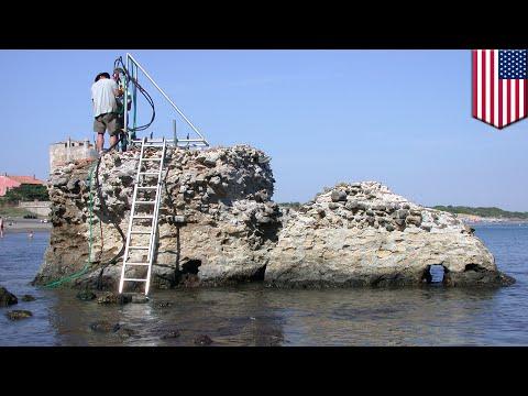 Ancient Roman concrete recipe: Seawater is the secret ingredient, says US researchers - TomoNews