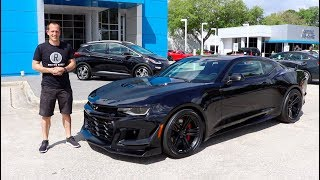 Is the 2019 Camaro ZL1 1LE a TRACK WEAPON you can drive every day?