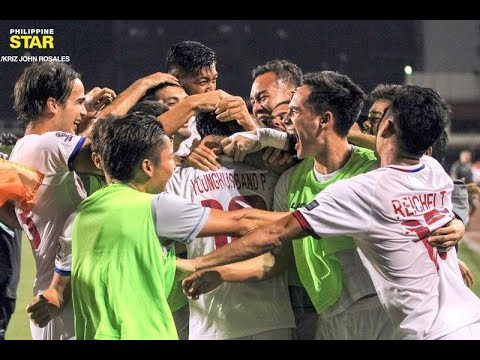 Philippine Azkals Win Gold Cup Debut
