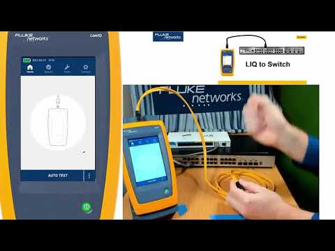 Live Demo of the LinkIQ Cable+Network Tester - YouTube