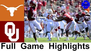 #22 Texas vs Oklahoma (QUADRUPLE OVERTIME) | 2020 Red River Showdown | College Football Highlights