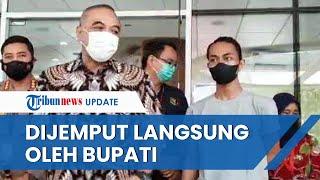 Dibolehkan Pulang dari RS, Mahasiwa yang Dibanting Oknum Polisi Dijemput Langsung Bupati Tangerang
