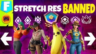 Fortnite News | Epic Just Banned Stretched Resolution From Competitive Play... Why?