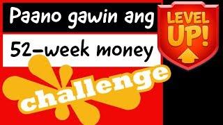Paano gawin ang level up 52-week money challenge