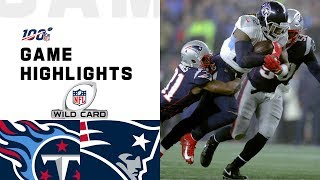The Tennessee Titans take on the New England Patriots during the Wild Card Round of the 2019 NFL postseason.  Subscribe to NFL: http://j.mp/1L0bVBu  Check out our other channels: NFL Vault http://www.youtube.com/nflvault NFL Network http://www.youtube.com/nflnetwork NFL Films http://www.youtube.com/nflfilms NFL Rush http://www.youtube.com/nflrush NFL Play Football https://www.youtube.com/playfootball NFL Podcasts https://www.youtube.com/nflpodcasts  #NFL #Titans #Patriots