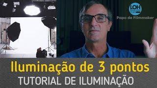 Iluminação de 3 Pontos - Aprenda em 5 minutos
