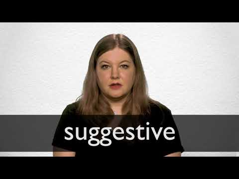 Sexually suggestive words