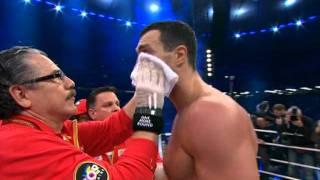 Владимир Кличко Дэвид Хэй победный раунд!!!