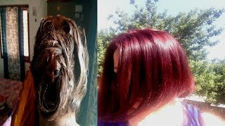 Beetroot Hair Color - How To Color Hair Burgundy Or Maroon At Home Naturally