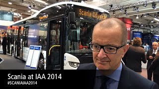 preview picture of video 'Scania launches competitive hybridised city bus'