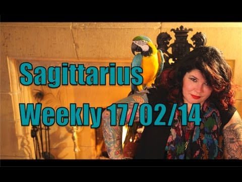 Sagittarius Weekly Astrology 17th February 2014 with Michele Knight