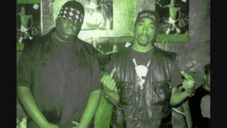 2Pac & B.I.G. - Runnin' (Dying to Live) [Chopped & Screwed by: 954™]