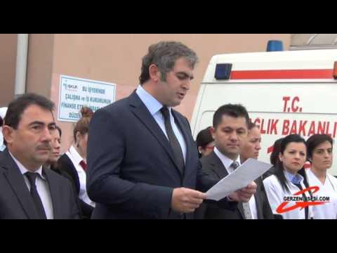 Gerze Devlet Hastanesi Basın Açıklaması