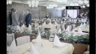 preview picture of video 'Luhačovice 1985 - otevření zotavovny ROH'