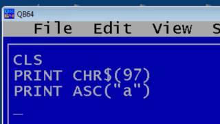 QBasic Tutorial 1 - Getting Started - Free Download - QB64