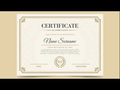 Certificate of Completion- Certificate Template PDF - Printable ...
