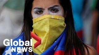 Police clash with anti-Maduro protesters in Venezuela