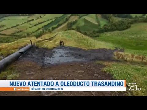 Nuevo ataque contra el oleoducto Trasandino en Nariño