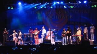 Seun Kuti & Egypt 80 at Festival International 2012 - Lafayette, Louisiana USA