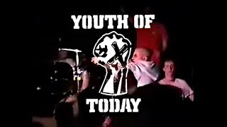 Youth Of Today [1988.] live @ The Anthrax, Norwalk, ct