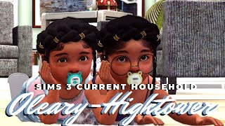 TROUBLE IN PARADISE?? 😲😥 || The O'leary-Hightowers! || Sims 3 current household