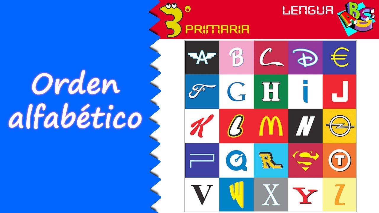 Lengua Castellana. 3º Primaria. Tema 1. El orden alfabético