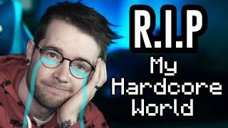 Saying Goodbye to My Minecraft Hardcore World..