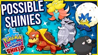 Drednaw  - (Pokémon) - NEW POSSIBLE SHINIES FOR WOOLOO, CORVIKNIGHT, DREDNAW & MORE!! | Pokémon Sword/Shield Speculations!
