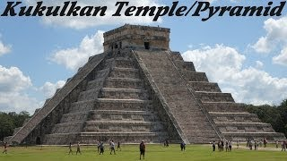 preview picture of video 'The Mayan Calendar: The Mayan Ruins in Chichen Itza - Kukulkan Pyramid'