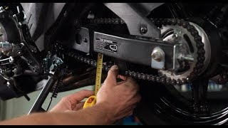 How To Check And Adjust Your Motorcycle Chain | MC GARAGE