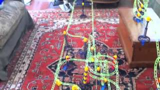 An 8-Loop Marble Run