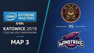 CS:GO - ENCE vs Winstrike [Train] Map 3 Ro4 - Challengers Stage - IEM Katowice 2019