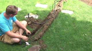 Moving lawn sprinkler heads - so easy, you can do it yourself!