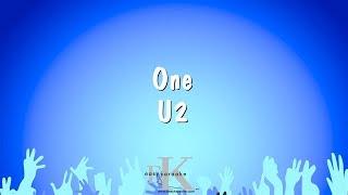 One - U2 (Karaoke Version)
