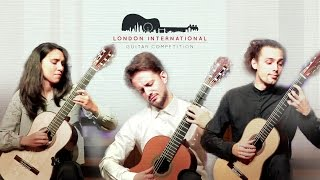 London International Guitar Competition, 2015