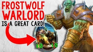 FROSTWOLF WARLORD IS OP IN ODD PALADIN! | Constructed | The Boomsday Project | Hearthstone