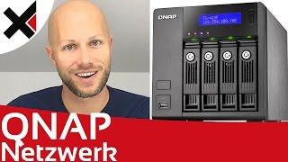 Im Netzwerk auf das QNAP Turbo NAS zugreifen Tutorial Deutsch | iDomiX
