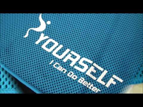 Asciugamano traspirante per fitness yoga sportivo 30x100 Syourself