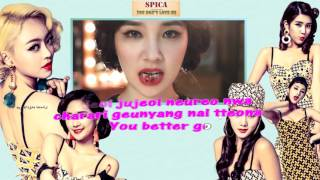 Spica - You Don't Love Me (Instr.)